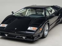 1989 Lamborghini Countach 25th Anniversary Edition VIN: