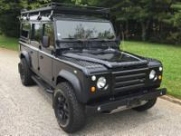 This is a 1989 Land Rover Defender 110 done by Arkonik