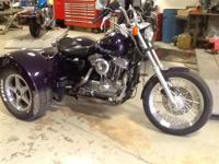 1989 Lehman Trikes/Harley-Davidson XL883/1200 Bandit