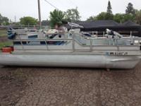 Fish and cruise Lowe pontoon.  Good running 30 HP