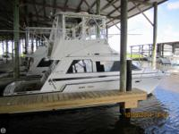 The 342 luhrs sport fish is a great looking and good