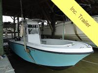Fantastic boat for low maintenance fishing. Load's of