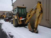 1989 Massey Ferguson 50H BACKHOE BAKCHOE LOADER Backhoe