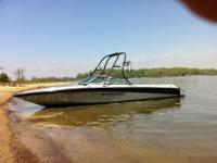 1989 Marercraft Maristar 240 Wakeboard Boat with 454