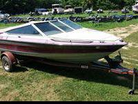 17 foot 1989 Maxum with 3.0 liter Mercruiser on its own