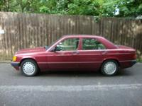989 MERCEDES 190E 2.6 4 DOORS $1500 OBO A true Vintage