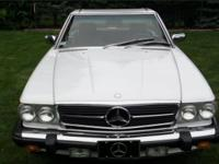 1989 560 SL ROADSTER STUNNING CONDITION! / 51,700