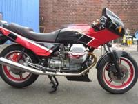 1989 Moto Guzzi Lemans 1000 series VThis is an