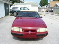 1989 Mustang LX Convertible, 5.0 fuel injected V-8,