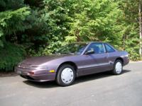 1989 Nissan 240sx All factory 25-year classic original.