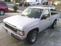I am selling a 1989 Nissan hardbody truck with only