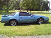 1989 pontiac firebird RUNS GREAT CALLS ONLY  DONE A FEW