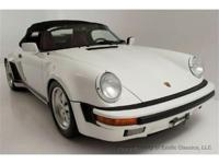 1989 Porsche 911 Speedster Exotic Classics is pleased