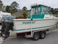 - Stock #76766 - This 1998 Pursuit 2550 WA is ready for