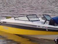 I have a 18 ft. walk through Rinker Ski Boat. It has