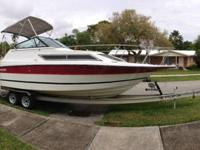 For Sale 28' Boat with float-on trailer!!!! 28' 1989