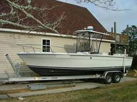Robalo 2520 center console for sale. This boat is not a