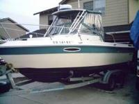 Seaswirl '89 Cabin & easy load trailer -