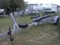 This is a 1983 Shoreline tandem axle bunk style with