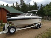 This boat is in excellent shape. Great for a weekend on