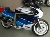 This Suzuki World Superbike (WSBK) rivaled Honda's RC30