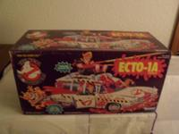 VINTAGE 1989 THE REAL GHOSTBUSTERS--(ECTO-1A). BRAND