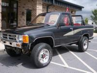 REMOVABLE TOP, POWER WINDOWS, SUNROOF, 4X4 WORKS GREAT,