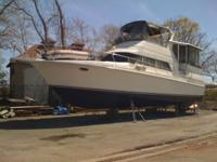 1989 Trojan 12 Meter Motor Yacht was considered a very