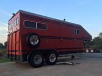 1989 TURNBOW 2 Horse Executive Gooseneck Horse trailer