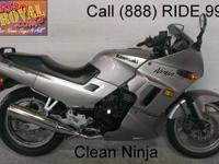 1989 used Kawasaki Ninja 250 crotch rocket for sale