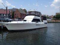 This Viking 44 Motor Private yacht features 2