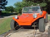 Up 4 sale or trade 1 nice fiberglass body dune buggy