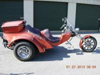 This is a Type 3 FULL automatic trans VW custom trike