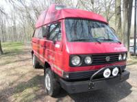 1989 Vanagon SYNCRO DIESEL Westfalia HighTop FULL