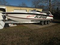 1989 Wellcraft Scarab Boat is located in