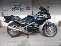 This is a excellent running 1989 Yamaha FJ1200.has