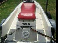 1989 Yamaha Waverunner 550 runs exallence seat has been
