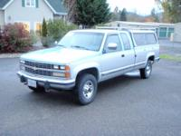 1989 Chevrolet 3500 Extended Cab Long Bed 4x4 with 454