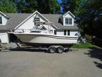 22 foot Grady White Seafarer 1989 is for sale and