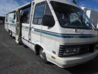 UP FOR GRABS TODAY IS AN 89 ITASCA WINDCRUISER 37 FT