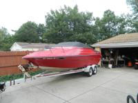 1989 RENKEN 20 FOOTER CUTTY CABIN COMES WITH TRAILER