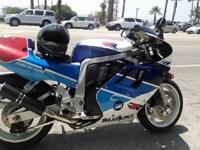 The Suzuki GSX-R750RK, also known as the RR ( the
