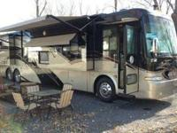 2007 Tiffin Zephyr 45 QSZ, Quad Slide Out, Only 32,000