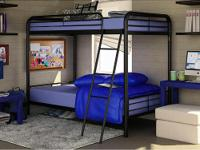 Twin over Twin Bunk Bed Set w/2 mattresses. List price: