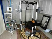 Club Weider Model 560 power rack has many features,