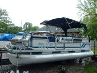 1990 20ft Aqua Patio with 48 SPL Johnson. Short term