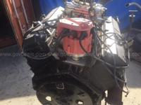 1990 454 Chevrolet Big Block engine with aluminum