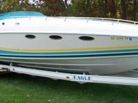 1990 Baja 420ES, 550 hrs, Length: 42ft, Exterior: