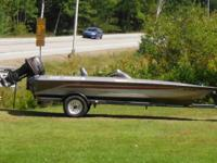 1990 Bass Tacker Fishing Boat 28' Tournement 1800
