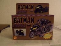 BRAND NEW 1990 BATMAN BATCYCLE INSIDE BOX, FACTORY